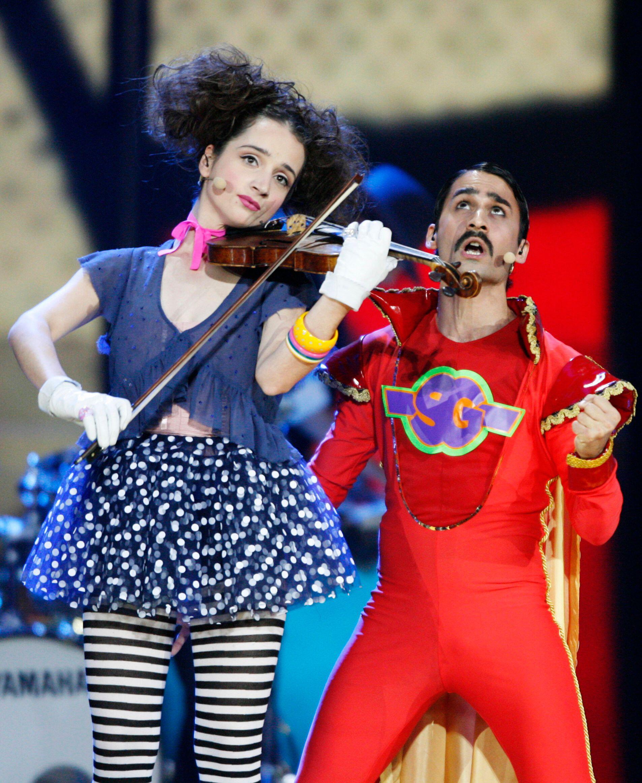 Eurovision violin