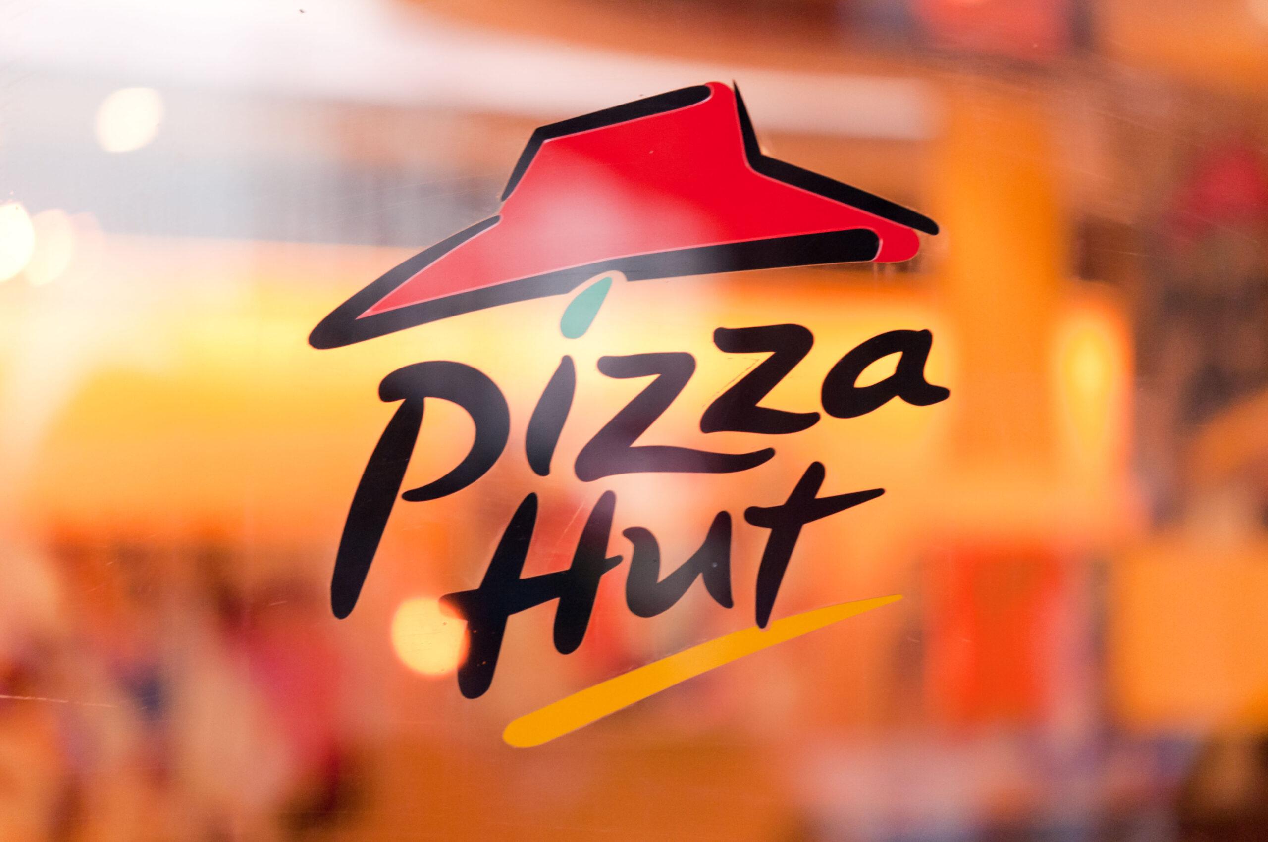 Pizza Hut roast dinner pizza