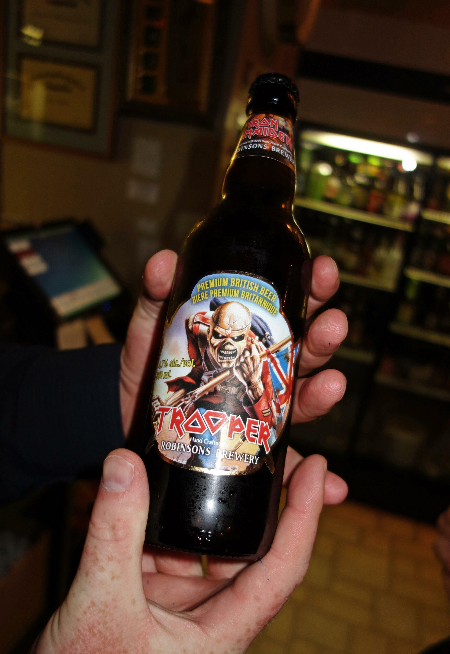 Iron Maiden beer