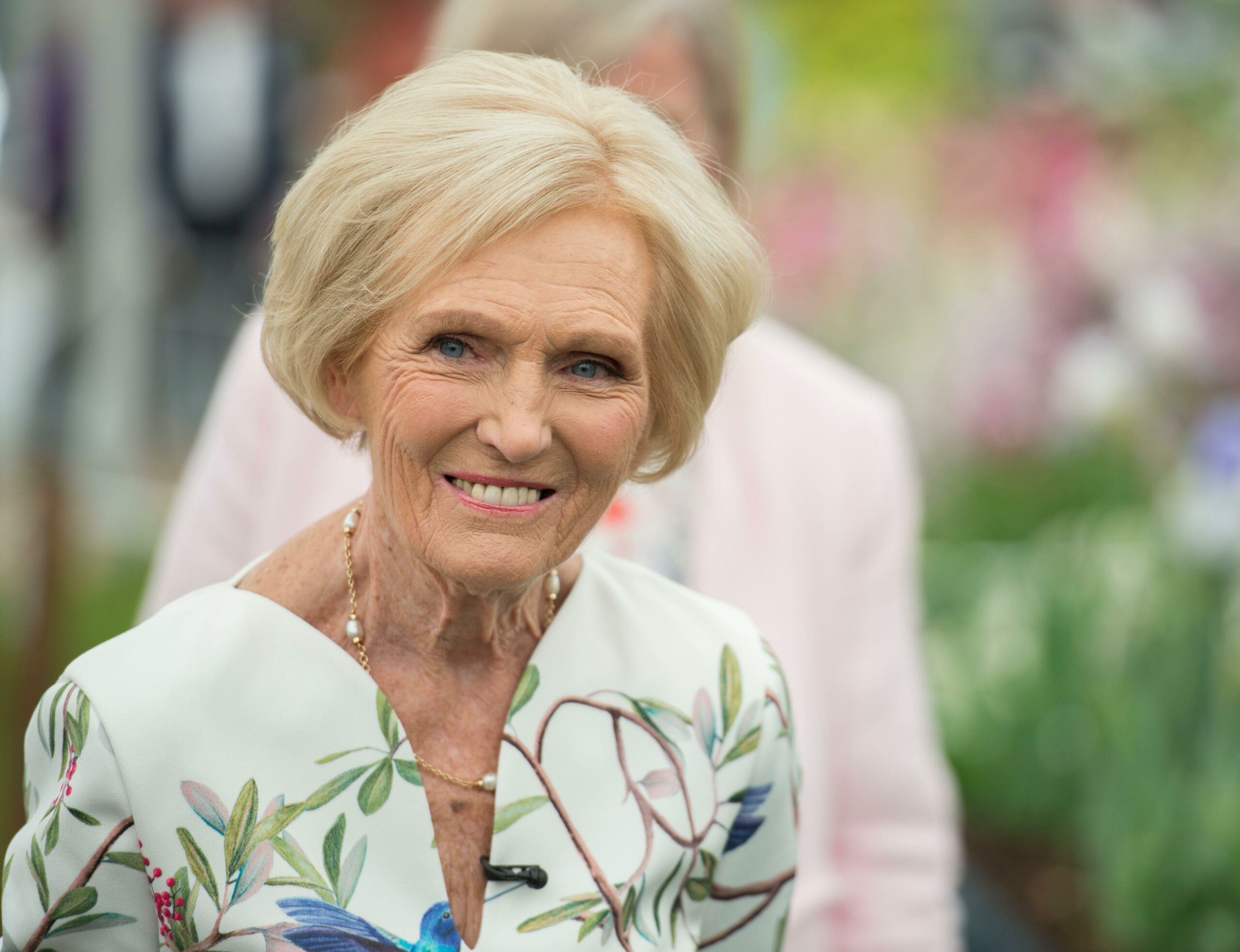 UK's favourite celebrity chef Mary Berry