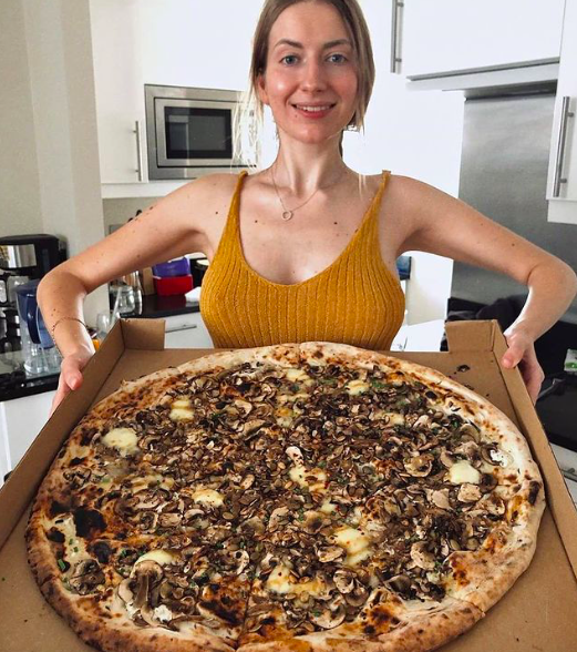 Homeslice biggest pizza in London