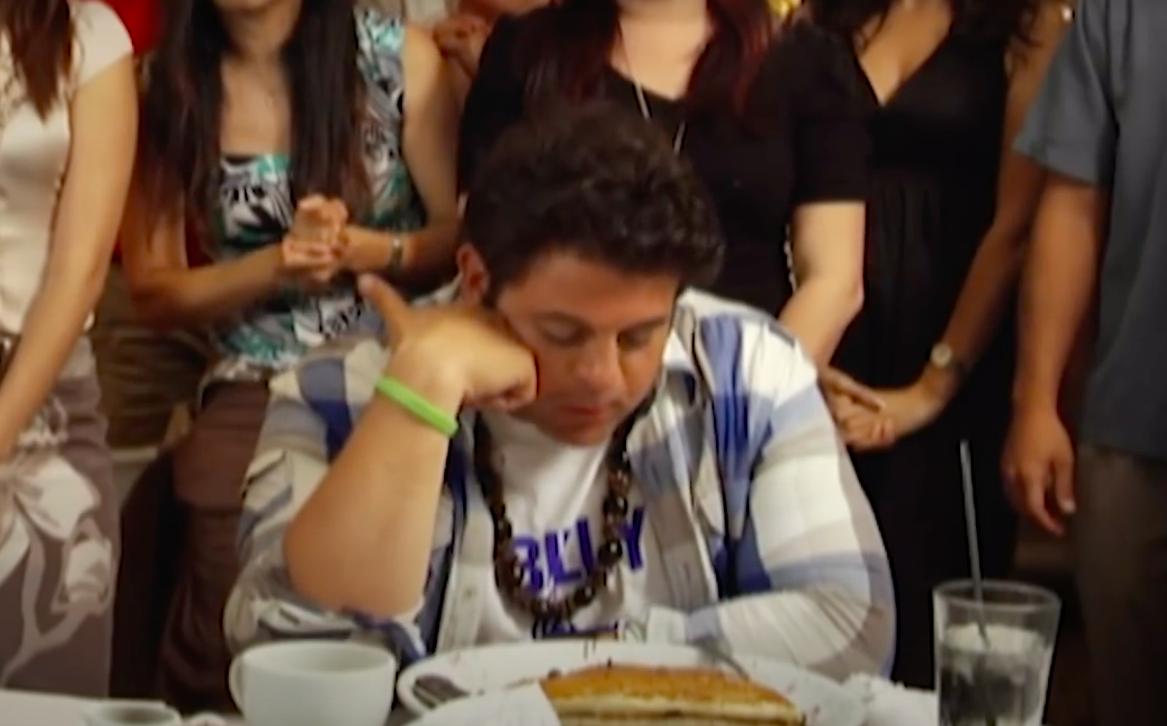 Adam Richman bets Man v. Food episodes (Credit: Food Network)