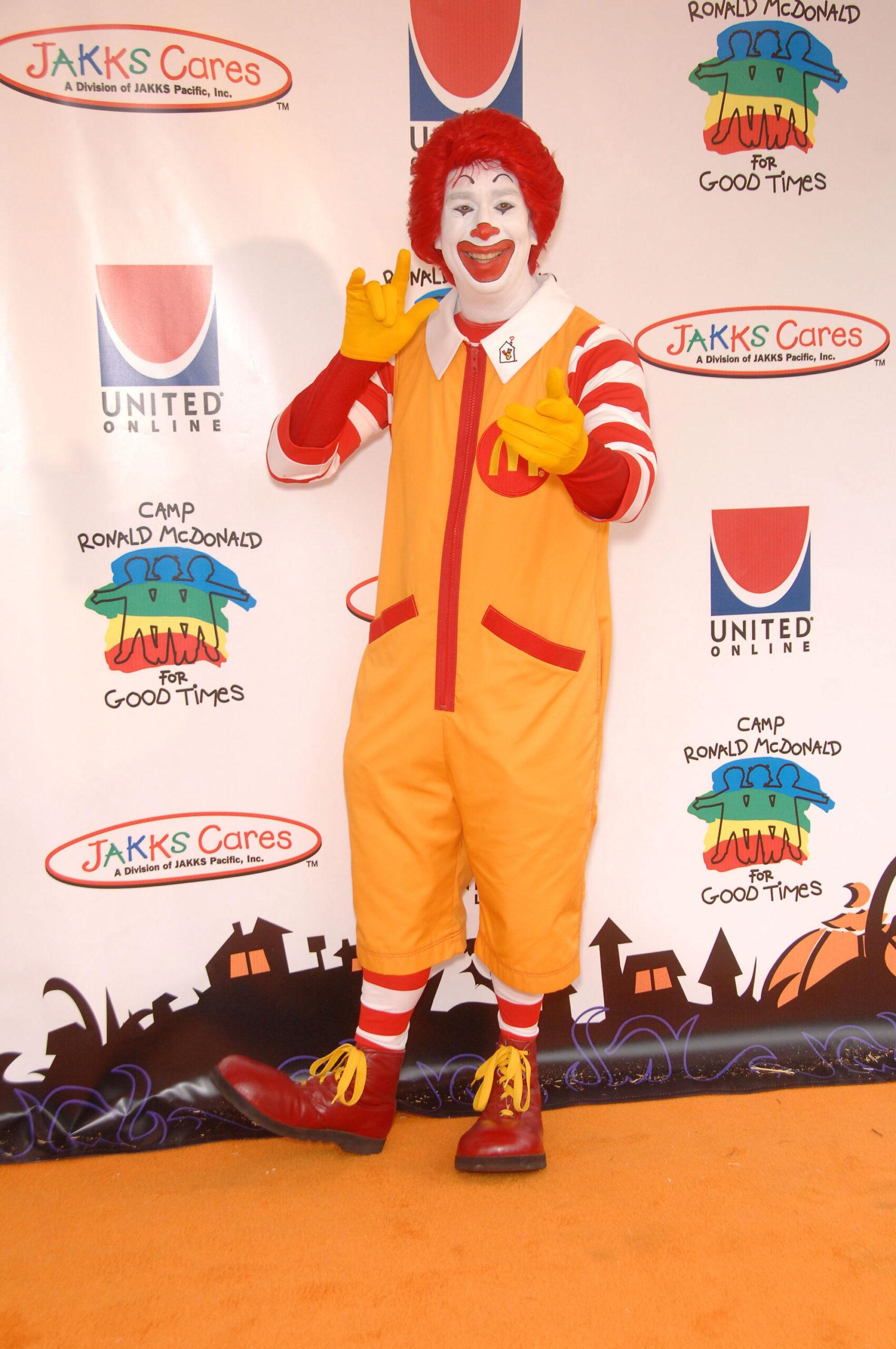 Ronald McDonald characters
