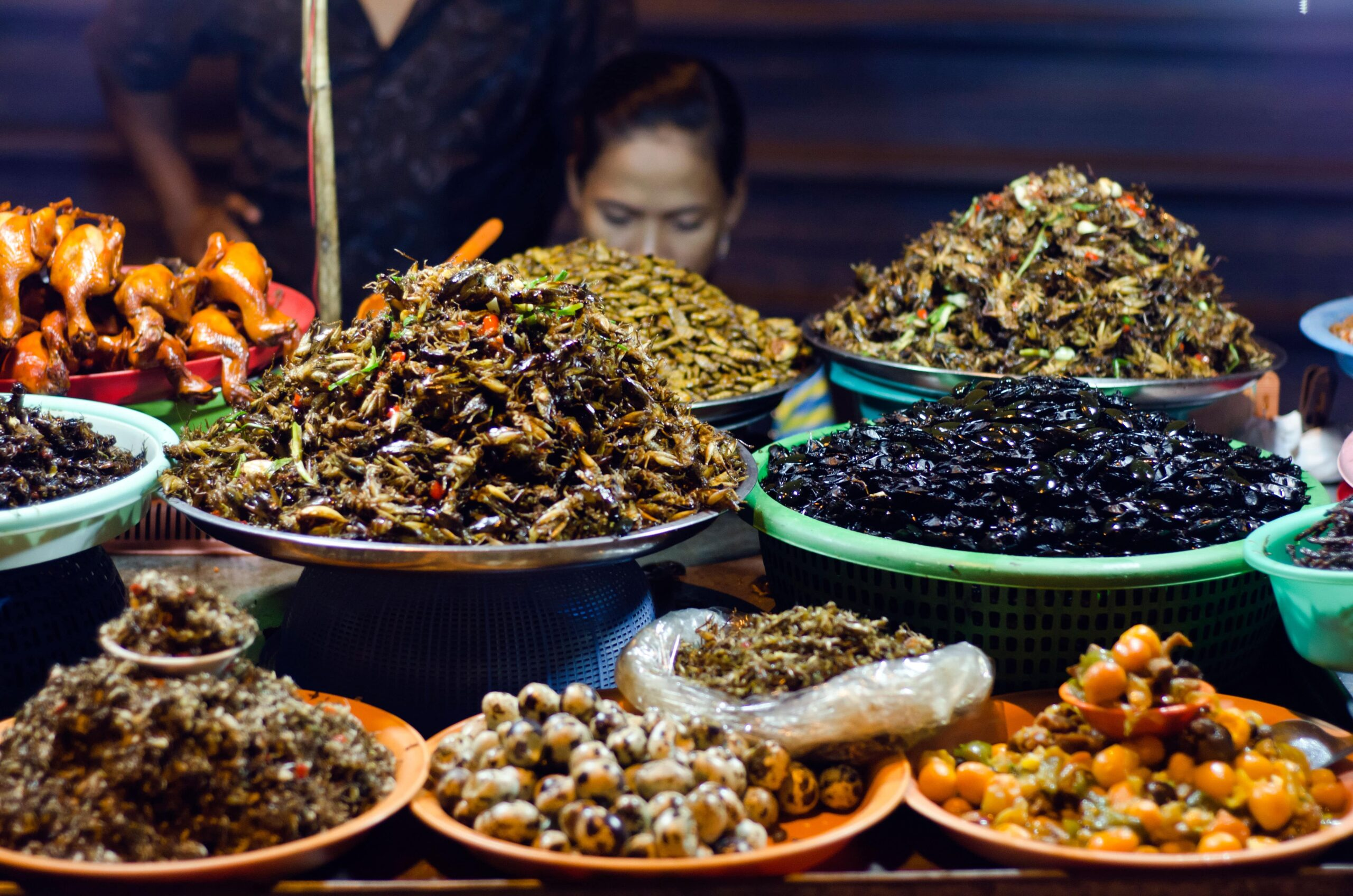 foods we'll be eating in the future insects