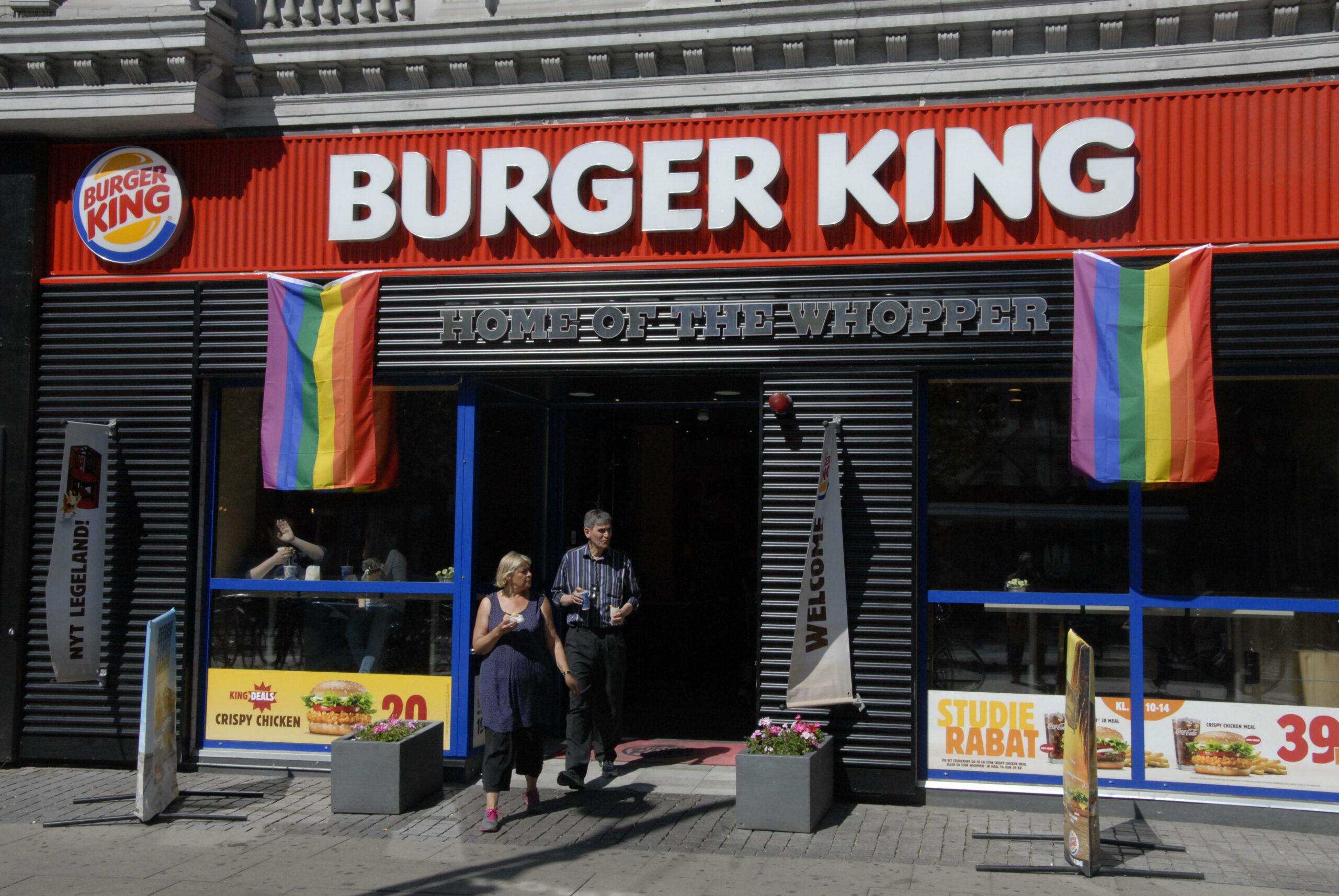Burger King Chick-Fil-A