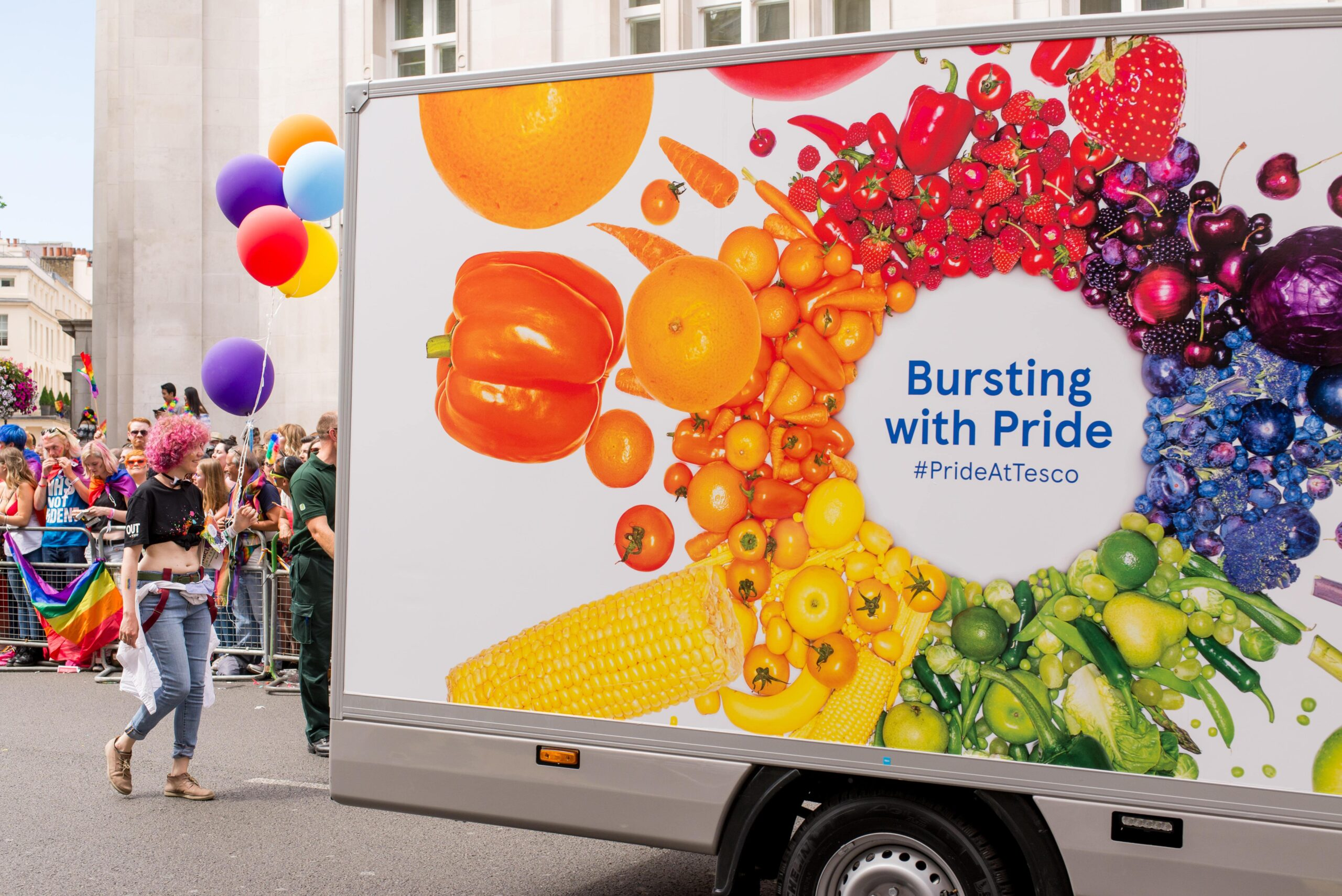 Tesco Food and Drink Pride
