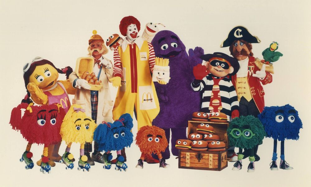 What are all the McDonald's characters' names