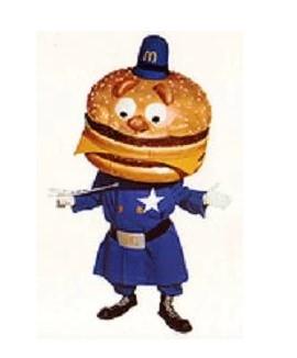 Officer Big Mac McDonald's characters names