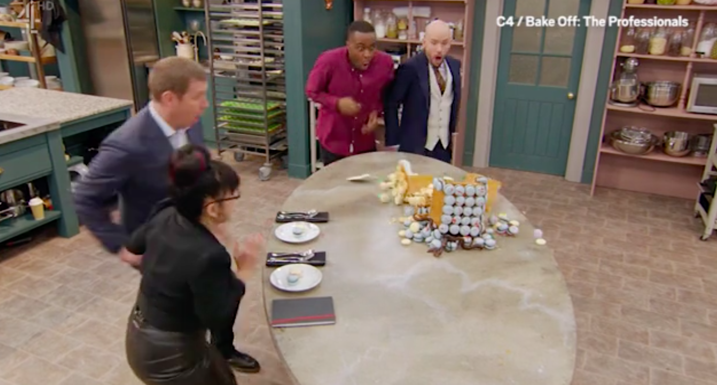 Bake Off: The Professionals disaster
