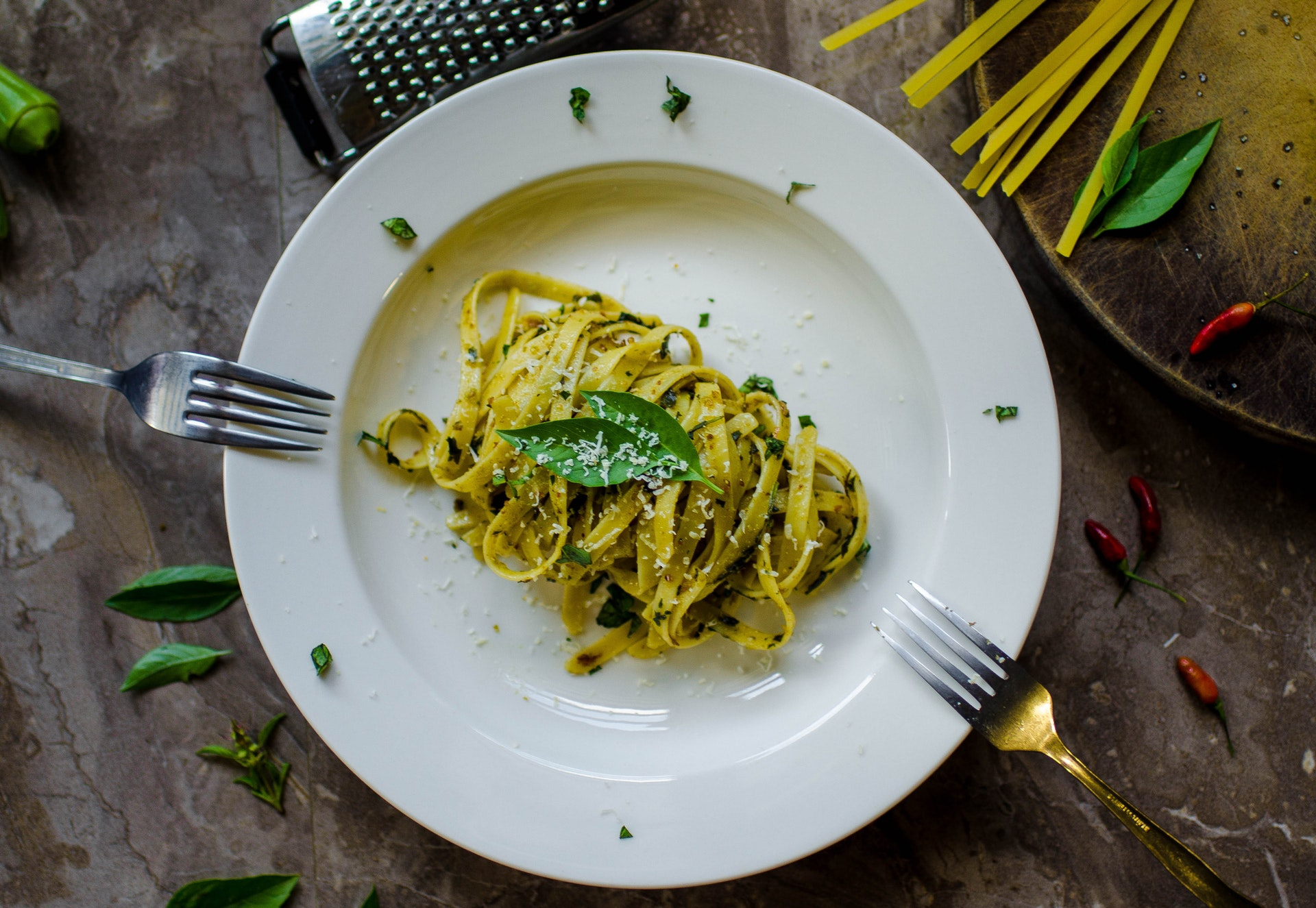 Pasta glycemic index